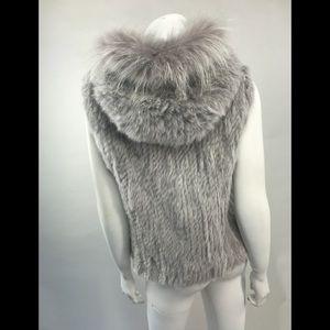 Other - Real Fur Vest Rabbit/ Raccoon New